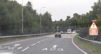 A23 Exit Pease  Pottage 2