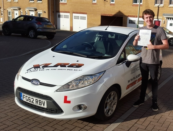 1022016 - Congratulations to Alex on passing his driving test today in Merthyr Tydfil :-