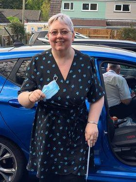 A massive well done to Ann Thomas on Passing her automatic driving test today in Abergavenny with Rob just 3 little minors you worked really hard for