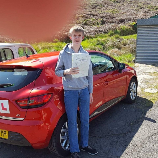 10517 - Massive congratulations go out to Benjamin on Passing his Automatic driving test today First time we are so very proud of you and you worked so hard and kept your nerve Brilliant