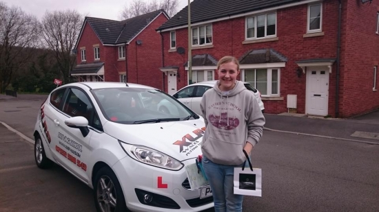 31315 - Congratulations to Bethan Crimmins on passing her driving test today first time in Merthyr Tydfil Nice one we knew you could do it have fun in your new car :-