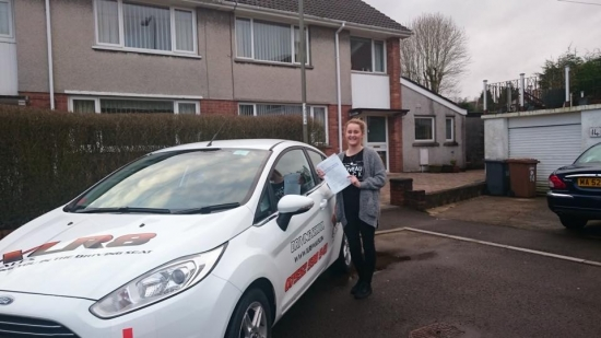 13115 - Congratulations to Bethan Williams on passing her driving test today at Merthyr Tydfil Nice one all your hard work paid off