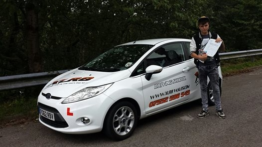18814 - A massive congratulations goes out to Callum Morgan who passed his driving test today in Merthyr Tydfil 1st time with only 3 minors Drive Safe