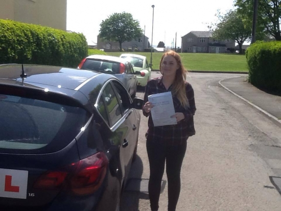 24515 - A massive congratulations goes out to Chloe Harding from Cefn Fforest who passed her Automatic Driving Test on Friday in Merthyr Tydfil Wooohoooo