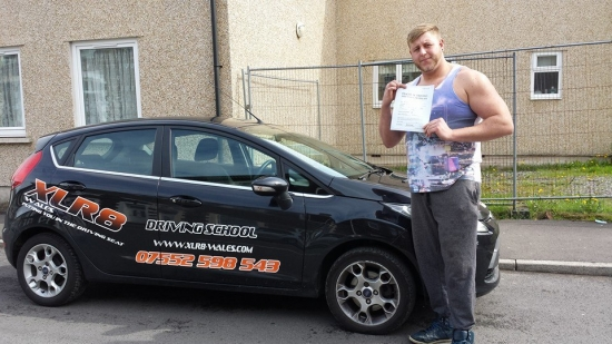 230414 Well done Craig for getting your licence back with 2 minor faults on an extended driving test today