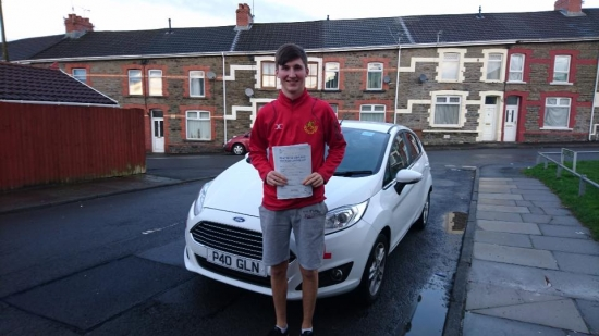 211216 - Congratulations to Cullen Daley on passing his test today first time in Merthyr Tydfil with only 3 faults