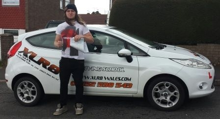 180314 A massive congratulations to Daniel Jones for passing his driving test this morning in Merthyr Tydfil what a mega result