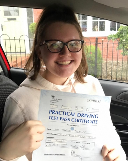 19.6.19 - Congratulations goes out to Danica in passing her driving test today in Merthyr. I'm so proud of you and all the hard work you put in... dri