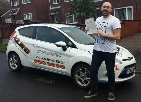 What a result for our Daniel Rosie Hier from Aberdare who passed his driving test today in Merthyr Tydfil with only ONE minor fault first time and after only 22 hours Well chuffed boyo gonna miss our howlers in the car