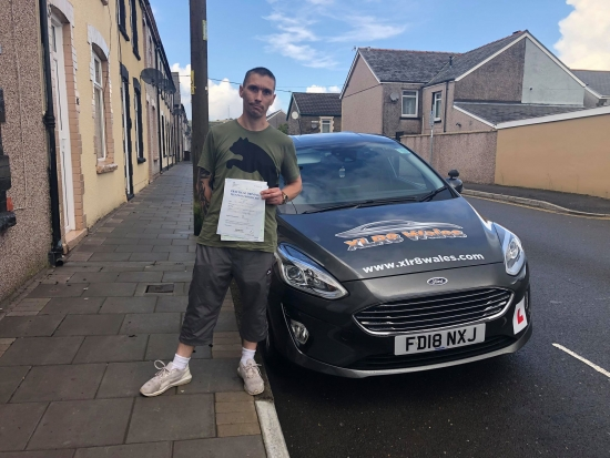 1.10.19 - Congratulations to Darren on passing his test with Glenn in Merthyr today... lovely result 🚗🚦�