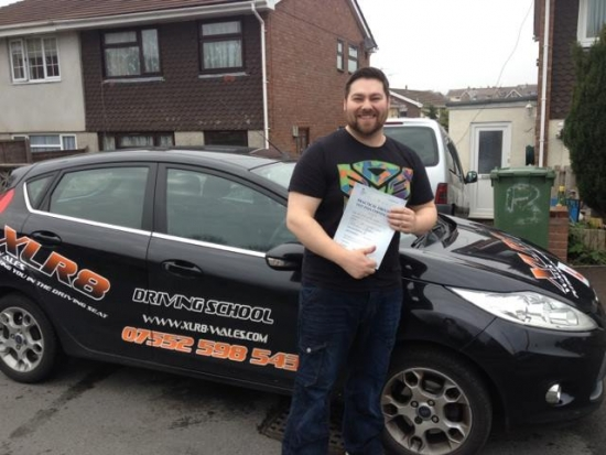 020414 Result Dave Well done on your passing your driving test in pontypridd with Matthew Williams Told you itd be a breeze