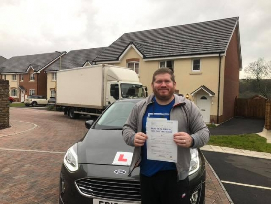 4/12/18 - Congratulations to David Priestly on passing his test today with only 3 faults awesome result now time to enjoy some car shopping 😊