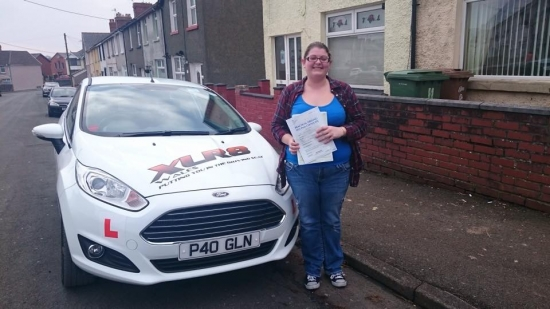 12215 - Congratulations to Emma Davies who passed her driving test this morning at Merthyr Tydfil with only 3 minors We knew you could do it now have fun looking for your first car :-