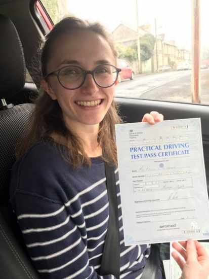 16.4.19 - Congratulations to Ffion on passing her driving test 1st time in Merthyr.... what an outstanding result!!! Safe driving 🚗🚦�