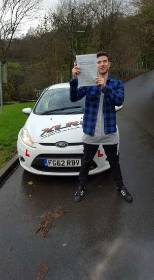 41215 - Highly recommend Ali Brooks with XLR8 driving school Best in the business Get booking lessons<br /> <br /> <br /> <br /> A massive congratulations goes out to George who passed his driving test today 1st time in Merthyr Tydfil oh yeah with half of his finger missing too lol