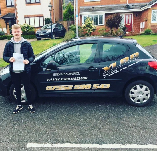 23317 - A huge well done to Harry on passing his driving test today in Newport with just three minors Congratulations mate