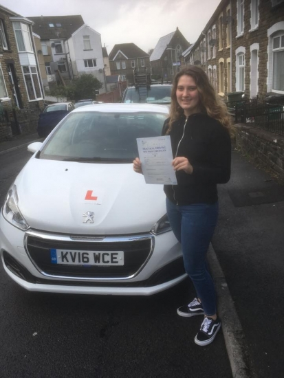 20.2.19 - 'Thank you Peter for all your patience and helping me pass my test!�'<br />
