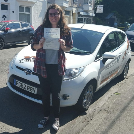 6815 - This was great passed first time on both tests with amazing help from Ali who always believed in me when I didnacute;t <br /> <br /> <br /> <br /> As Jeremy Clarkson would say - Isobel Thomas is the best learner in the world after achieving the best result possible today on her driving test 1st time with ZERO faults that means she gave the examiner a PERFECT DRIVE We are all mega chuffed fo