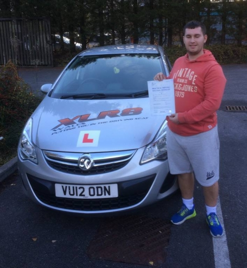 21116 - What another lovely result for our Peter Congratulations to Jamie Mahoney who passed his driving test in Merthyr 1st time today stunning