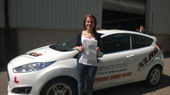 060514 Big congratulations to Jay Jones on passing her driving test first time in Merthyr Tydfil today knew you could do it