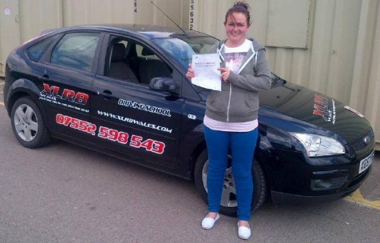 A massive congratulations to Jenna who passed her automatic driving test 1st time with only 1 minor and in only 2 months What a result Well done from all of us :-