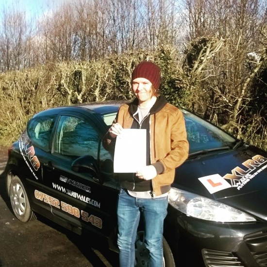 1512016 - Joe passed his test today in Abergavenny first time with just six teeny tiny minors after our 20 hour semi intensive course Well done Joe brilliant result especially with the current road conditions
