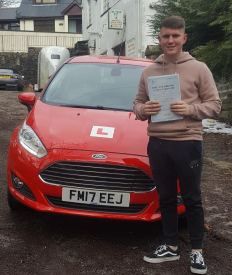 21.3.18 - Congratulations to Joe Stalder on passing his driving test 1st time today ... enjoy your little red fiesta