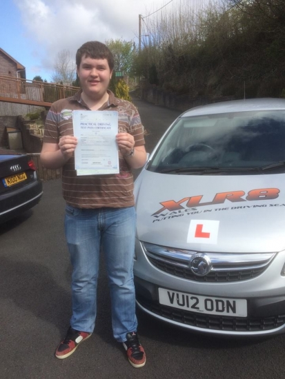 274116 - Another lovely result with our Peter - Congratulations goes out to Josh King who passed his driving test 1st time today in Merthyr Tydfil
