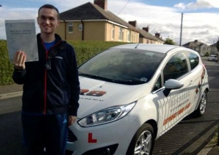 Congratulations to Joshua on passing his test after only 34 hours Happy driving :-