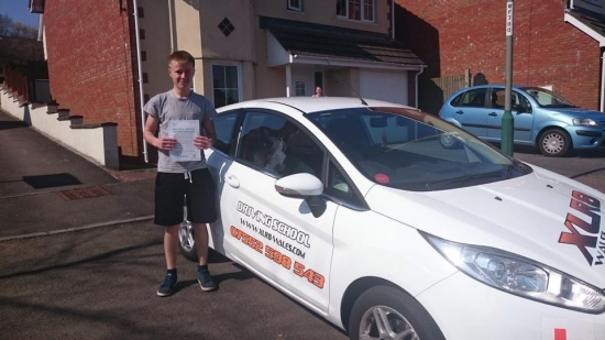 10415 - Congratulations to Joshua Stokes on passing his test in Merthyr Tydfil with only 3 minors Looking forward to seeing you out on the road :-