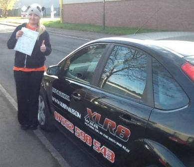 251113 - A really big well done to Justyna for passing your test today 1st time with just 3 minors We are very very proud of you Thank you for the cake too we did try to keep it for the day but failed miserably :-