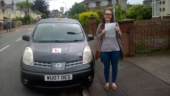 20616 - Amazing result today as Keeni passed her automatic driving test in Newport with just 5 minors Hope you find your mini