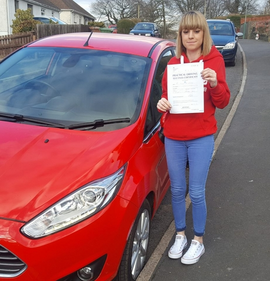 26.2.18 - Congratulations to Kelsey Watters on passing her driving test today with only 2 little minor faults.... Enjoy your freedom and give us a beep if you see us on your travels