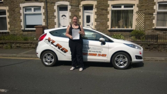 170514 Congratulations to Kimberley Parry on passing her driving test this morning first time at Merthyr Tydfil nice one
