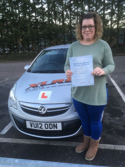 5117 - Congratulations to Kristi Olden who passed her driving test today with our Peter in Merthyr Tydfil what a lovely start to the New Year
