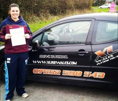 281113 - Well done Lottie for passing your test today in Abergavenny Well deserved and just in time for Christmas