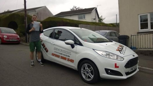 28814 - Big congratulations to Luke on passing his test today at Merthyr Tydfil first time - we are all very proud of all the hard work you put in