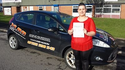 1222014 - WOW Well Done to Michaela Hunt who passed her driving test today 1st time in Merthyr Tydfil after only 13 hours What a fab result — with Michaela Hunt
