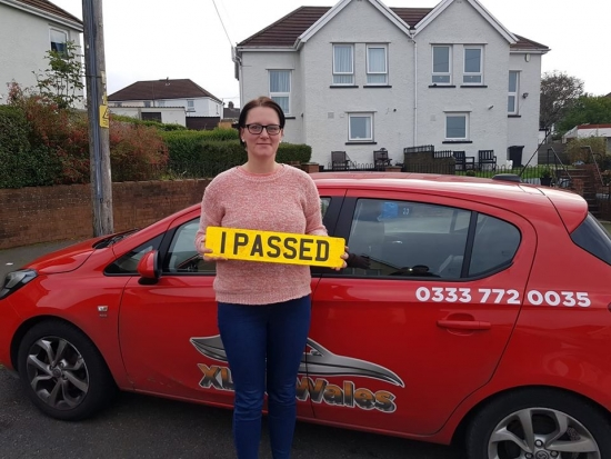 22.10.19 - Congratulations to Monika Rzymska on passing her automatic driving test today first time in Merthyr with our Rhys!!!!