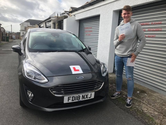 19.9.18 - Congratulations to Morgan January on passing his test this morning first time with only 3 faults in Merthyr Tydfil.