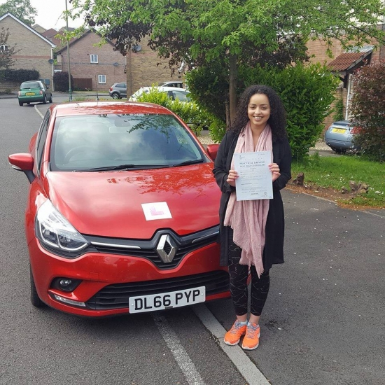 23517 - Congratulations to Natasha Taylor on passing her automatic driving test today with only 2 minors lovely