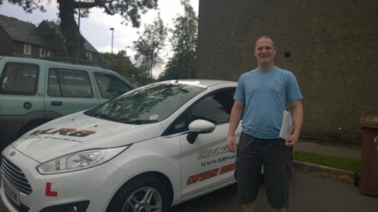 190614 We would like to congratulate Nathan Hoffer on passing his driving test today first time after only 20 hours in Merthyr Tydfil