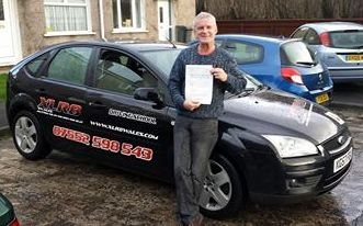 A very big well done to Phil Rogers on passing his Automatic Driving Test today with just 4 tiny minors and first time PROUD OF YOU FELLA :-