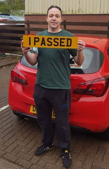 4.4.19 - Congratulations to Phillip Osborne on passing his Automatic driving test today in Cardiff with Rhys!!! Well done and safe driving �🚗