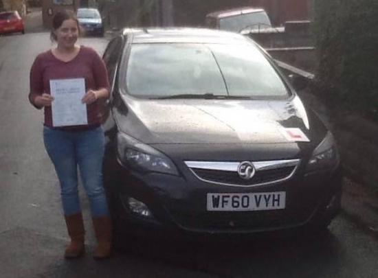 311015 - Would really recommend this driving school Rob was great Thanks Rob<br /> <br /> <br /> <br /> Congratulations goes out to Rachael Davies who passed her Automatic driving test on Wednesday What a lovely result :-