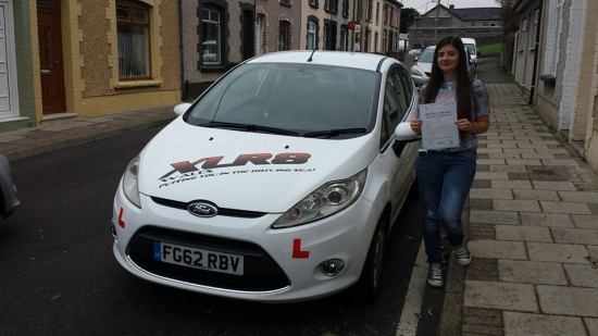 251114 - Another lovely result from Rachel Smith who passed her driving test today 1st time with only 4 minors Thank you soooo much for the flowers and we are all very proud