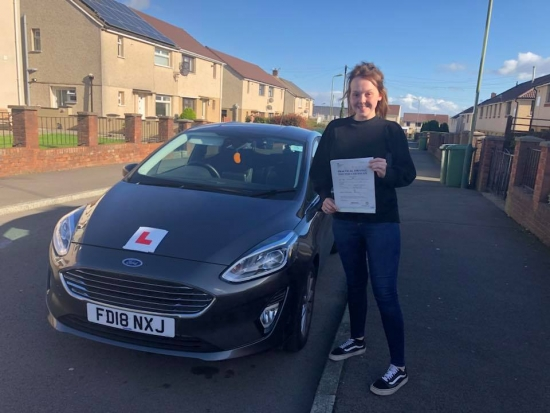 21.9.18 - Congratulations to Rhiannon on passing her test this afternoon in Merthyr Tydfil all your hard work has paid off now time to relax and enjoy