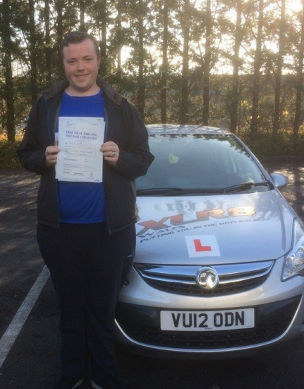 311016 - Passed my test first time with Peter from Aberdare what a fantastic instructor would highly recommend<br />