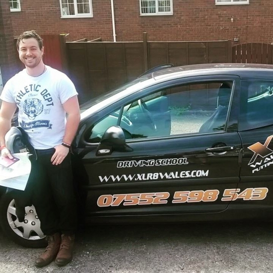 16615 - Well done Sam on passing your test today in Newport with just 6 minors Great result on a tough test route All the best for the future with your book and donacute;t forget me when your famous :-