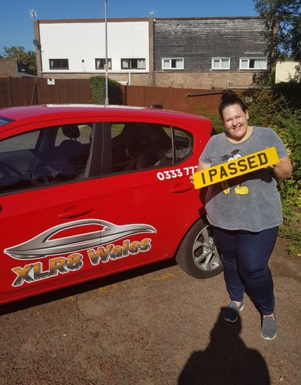 18.9.19 - Congratulations to Samantha Bedford on passing her driving test today in Abergavenny first time!!!! Well done and safe driving 🚗�🚗�